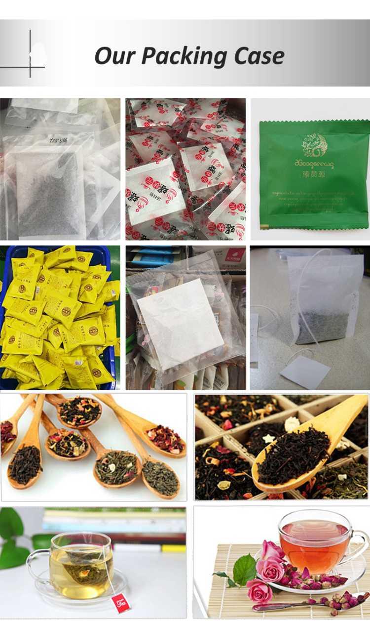 packing of tea bag
