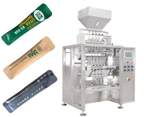 multi line granular packing machine