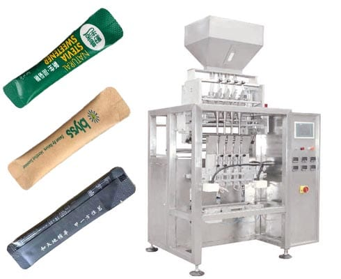 multi line granular packing machine