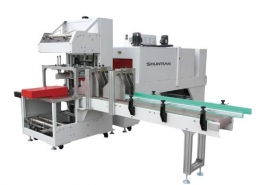 Fully-auto-Sleeve-Sealer-Shrink-Tunnel-Integral-Type