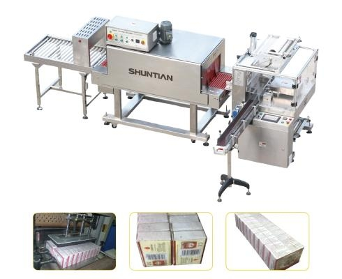 Fully-auto-Sleeve-Sealer-Shrink-Tunnel-Multirow