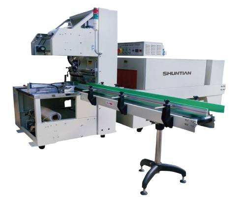 Fully-auto-Sleeve-Sealer-Shrink-Tunnel-for-Tapes