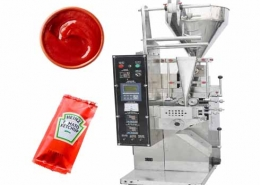sauce pouch sachet packing machine