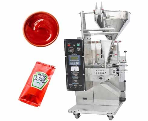 sauce pouch sachet packing machine