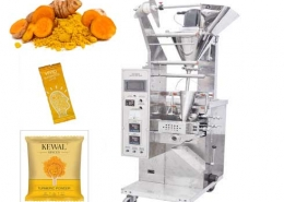 turmeric pouch powder packing machine
