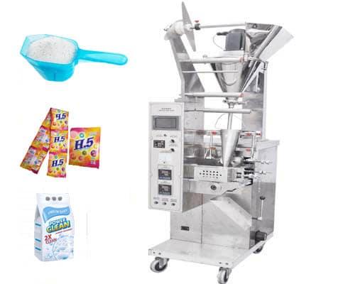 Washing powder pouch sachet packing machine