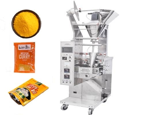 curry powder sachet packing machine