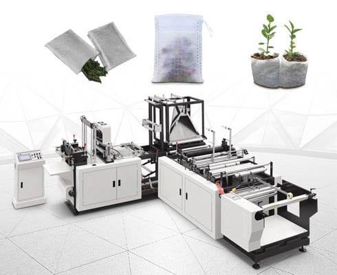 ST-350 Non-woven bag making machine for Chinese medicine bag, tea bag, seedling bag
