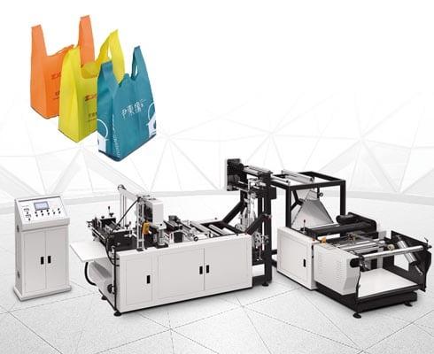 ST-500 vest bag non-woven bag making machine