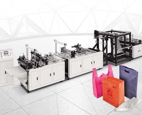 ST-C700 multifunctional non-woven three-dimensional bag making machine
