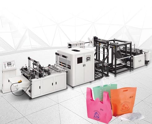 ST-D700 Flat mouth ironing non-woven bag making machine