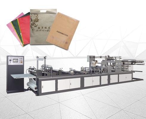 ST-H700 Automatic non-woven zipper bag making machine