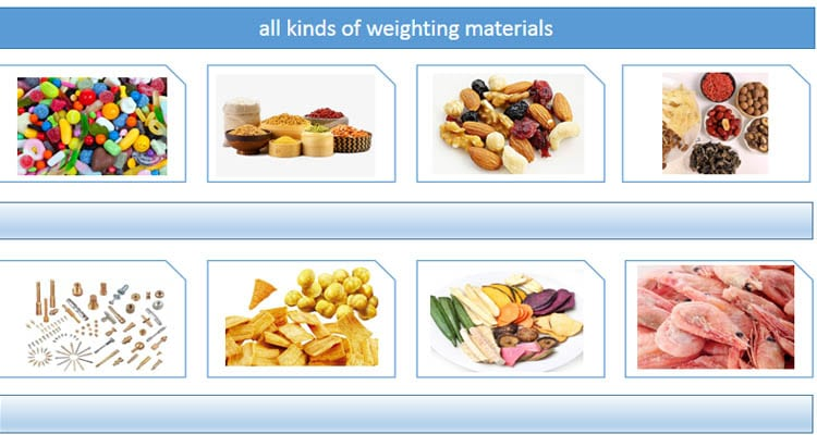 all kinds of weighting materials