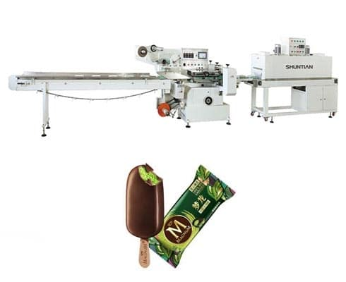 popsicle filling and sealing machine