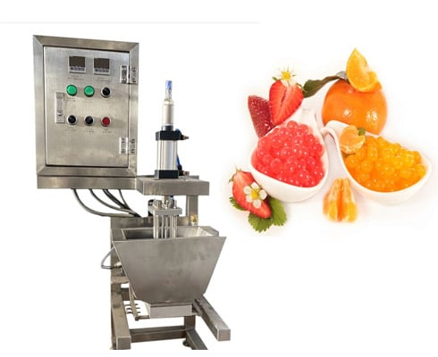 Popping boba target pearl making machine for sale