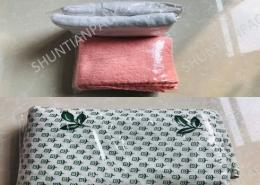 bedsheet-towel-blanket-laundry-shrink-wrap