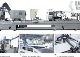 Flat-plate Soft(Hard)Plastic Blister Packing Machine
